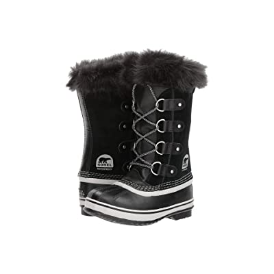 SOREL Kids Joan of Arctic (Little Kid/Big Kid) (Black/Oyster) Girls Shoes