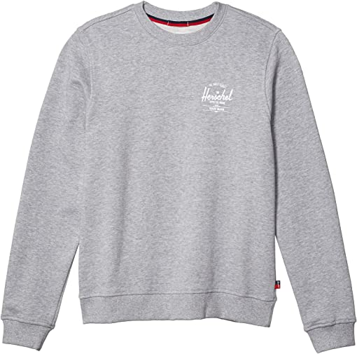 Classic Logo Heather Grey/White