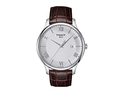 Tissot Tradition T0636101603800 (Mother-of-Pearl/Brown) Watches