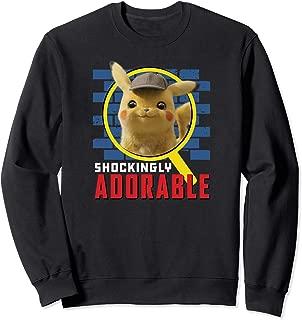 Detective Pikachu Shockingly Adorable Sweatshirt