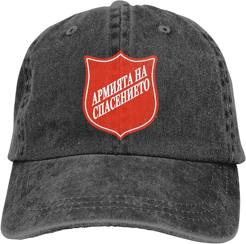 NC The Salva-Tion Army Trucks Cotton Hat Cowboy Hat Baseball Caps Black