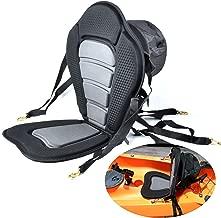 Welugnal Kayak Backrest Boating Seat,Luxury Adjustable Padded Kayak Seat Back