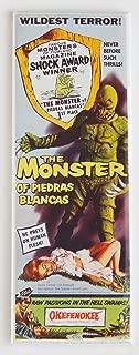 Monster of Piedras Blancas Movie Poster Fridge Magnet (1.5 x 4.5 inches)