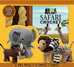 african flower crochet elephant