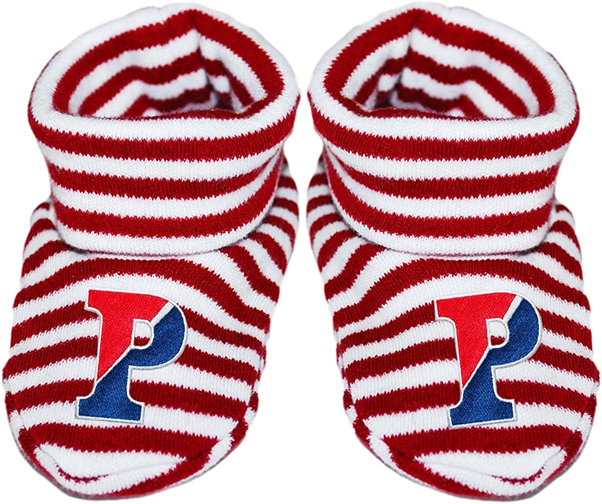 University of Pennsylvania Split P Ranking TOP14 S Bootie Striped Baby All stores are sold Newborn
