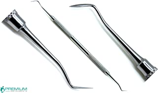 Dental Hollenback 1/2 Amalgam Wax Modeling Carver Restorative Double Ended Stainless Steel Instruments