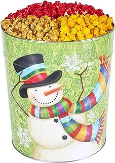 6.5 Gallon Popcorn Tin 1/3 Caramel 1/3 Cheese 1/3 Cinnamon