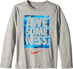 Awesomeness Camo Dri-FIT™ Long Sleeve Top (Little Kids)