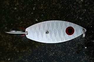 Aqua Dream WSOW 3/8-Ounce Weedless Spoon, White Finish
