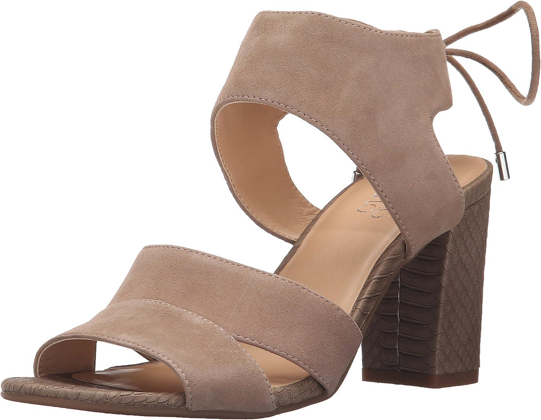 Franco Sarto Women's Gem Dress Sandal Grey