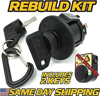 Troy-Bilt MTD Ignition Switch Super Bronco Hydro, Mustang XP, Bronco, Horse XP - OEM Upgrade W/2 Keys - HD Switch