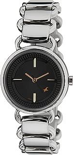 Fastrack Analog Black Dial Women's Watch -NK6117SM01