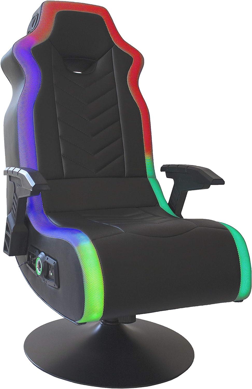 X Rocker 購入 5152401 人気ショップが最安値挑戦 RGB Prism Pedestal Dual Chair 3 LED with 2.1