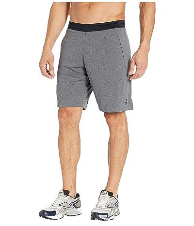 Reebok One Series Training Knit Shorts (Dark Grey Heather 1) Men