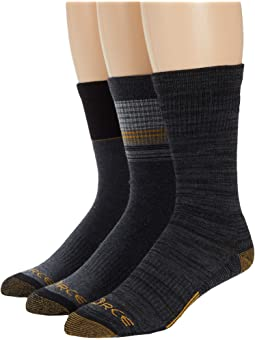 Carhartt Force Merino Wool Crew Socks 3-Pack