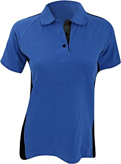 Finden & Hales Womens/Ladies Sports Polo T-Shirt
