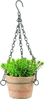 Esschert Design AT27 Aged Terracotta Hanging Flower Pot