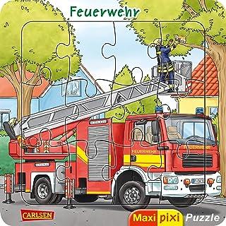 Maxi Pixi: Maxi-Pixi-Puzzle: Feuerwehr: Ein Puzzle für Kinder ab 3 Jahren