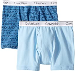 2-Pack Modern Cotton Boxer (Little Kids/Big Kids)
