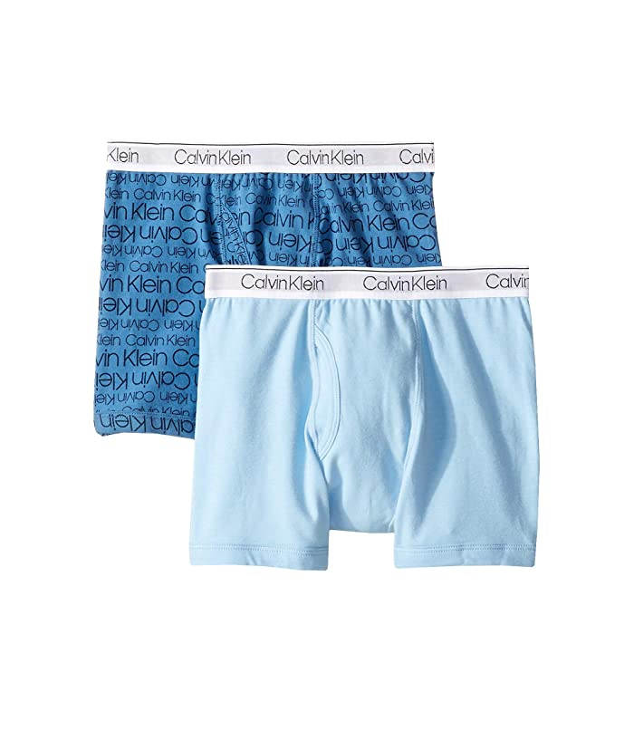 60059b7897f7 Calvin Klein Kids 2-Pack Modern Cotton Boxer (Little Kids/Big Kids ...