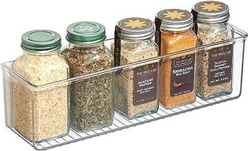 iDesign AFFIXX Plastic Wall Mount Organizer Rack, Shelf for Kitchen, Bathroom, Office, Bedroom, Craft Room, 3