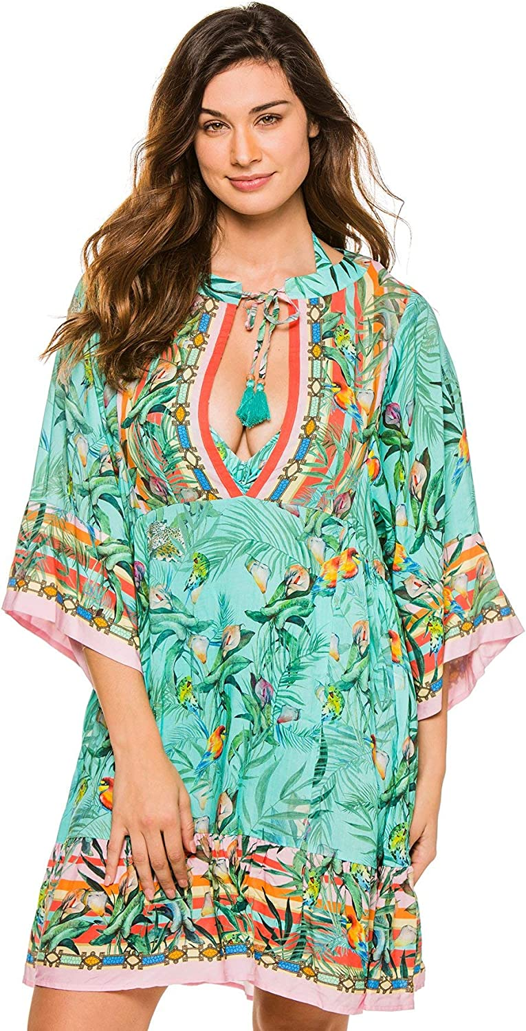 Johnny Was Taina Short Cover Up - Multicolor - CSW4320-N