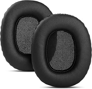 YDYBZB Replacement Earpads Ear Pads Cushions Cups Cover Compatible with Marshall Monitor Over-Ear Stereo Headphones (Black...