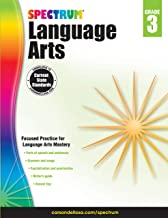 Carson Dellosa – Spectrum Language Arts, Focused Practice for Language Arts Mastery for 3rd Grade, 176 Pages, Ages 8–9 with Answer Key