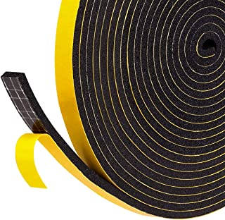 Foam Tape Weather Strip, 1/4