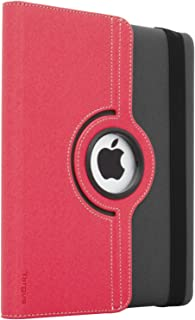 Targus Versavu Rotating Case and Stand for iPad 2, 3 and 4, Charcoal Gray/Calypso Pink (THZ15606US)