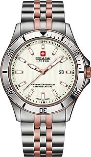 Swiss Military Hanowa - Reloj Analógico para Hombre de Cuarzo con Correa en Acero Inoxidable SM06-5161-2-12-001