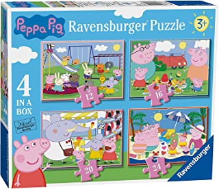 Peppa Pig 4 in a Box Puzzles