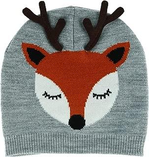 CTM Women's Novelty Holiday Cuff Beanie Hat