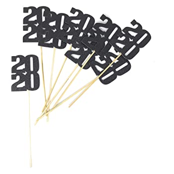Halloween 2020 Maaj Amazon.com: PaperGala 8 pack of 2020 Centerpiece Sticks for DIY