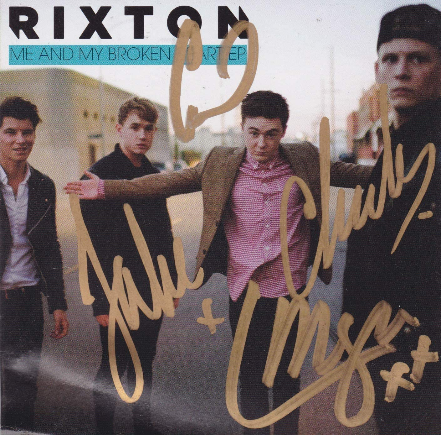 Long-awaited Max 79% OFF Rixton signed CD