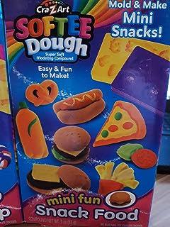 Cra-Z-Art Softee Dough Mini Fun Snack Food Set Kit