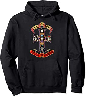 Guns N' Roses Logo Cross Hoodie