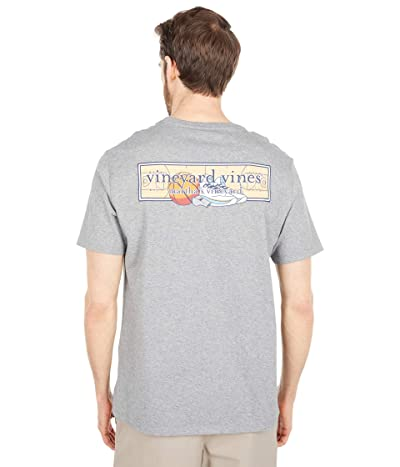Vineyard Vines Short Sleeve Basketball Logo Box Pocket T-Shirt