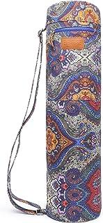 ELENTURE Yoga Mat Bag, Yoga Mat Carrier Full-Zip Exercise Yoga Mat Carry Bag for Women..