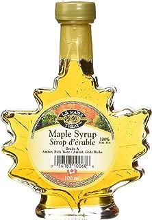 L B Maple Treat Canada No. 1 Light Maple Syrup, 100ml/3.38fl oz