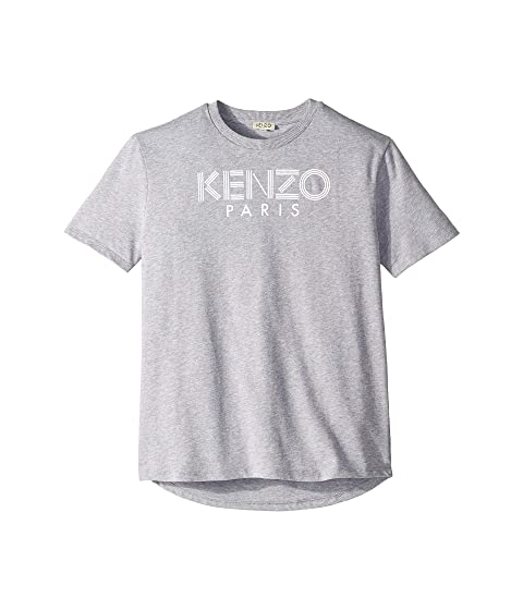 Kenzo Kids Simple Logo Tee (Big Kids)