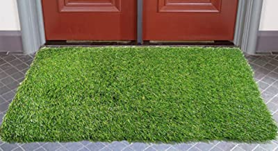 Hand Tex Artificial Grass Door Mat 40 X 60 cm (15.75 X 23.63) Inches
