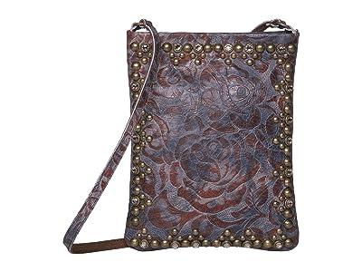 Leatherock Yvette Cell Pouch (Eagle Rust Blue) Cross Body Handbags