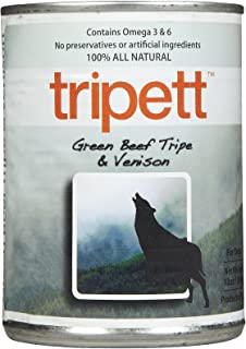 Tripett Green Beef Tripe with Venison -12 x 13 oz