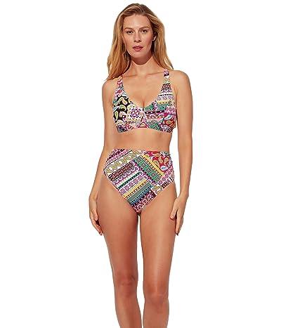 Bleu Rod Beattie Just Cool High-Waist Hipster Bikini Bottoms Women