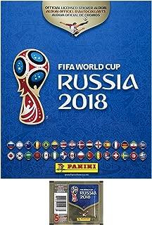 Panini 2018 FIFA World Cup Russia Combo - 1 Official Album & 5 Stickers