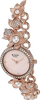 Titan Raga Aurora Analog Pink Dial Women's Watch-NM95043WM01 / NL95043WM01