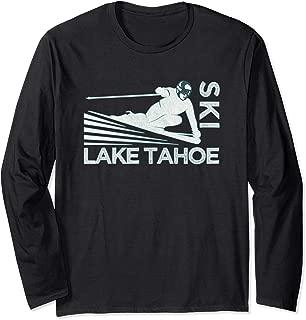 Retro Ski Lake Tahoe Shirt - Vintage Snow Ski Tshirt