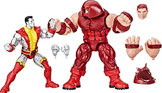 Marvel Comics 80th Anniversary Legends Series 6-Inch-Scale Vintage Comic-Inspired Colossus Vs. Juggernaut Collectible Action Figure 2-Pack