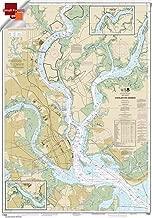 Paradise Cay Publications Small Format NOAA Chart 11524: Charleston Harbor